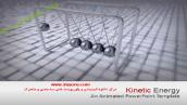 قالب پاورپوینت سه بعدی متحرک kinetic motion