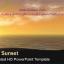 قالب پاورپوینت سه بعدی متحرک ocean sunset