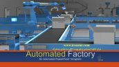 قالب پاورپوینت سه بعدی متحرک automated factory