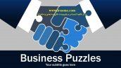 قالب پاورپوینت سه بعدی متحرک business puzzles