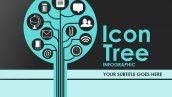 قالب پاورپوینت سه بعدی متحرک icon tree