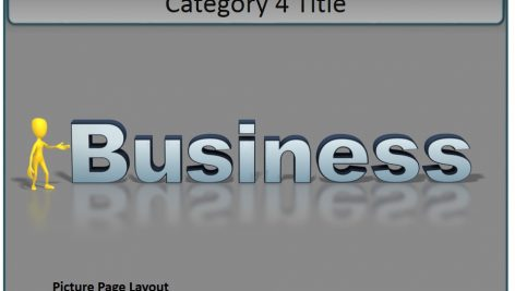 قالب پاورپوینت سه بعدی متحرک interactive tabs category pages