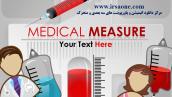 قالب پاورپوینت سه بعدی متحرک medical measure